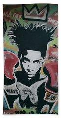 King Basquiat Beach Sheet