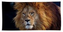 King Lion Beach Towel