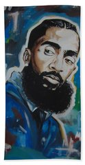 King Nipsey Beach Sheet
