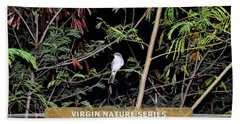Kingbird In Casha - Virgin Nature Series Beach Towel