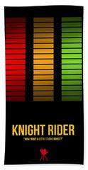 Knight Rider Beach Towel