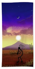 Kokopelli Dream World Beach Towel