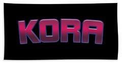 Kora #kora Beach Towel