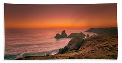 Kynance Cove Beach Towel