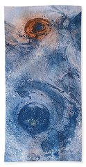 Beach Towel featuring the painting  La Donna Del Lago by 'REA' Gallery