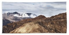 Beach Towel featuring the photograph Ladakh Peaks by Whitney Goodey