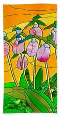 Ladyslippers  Beach Towel