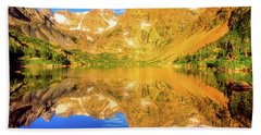 Lake Isabelle, Revisited Beach Towel