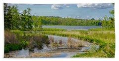 Lake Itasca Beauty Beach Towel