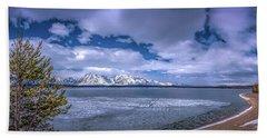 Lake Jackson Wyoming Beach Towel