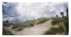 Lake Michigan Sand Dunes Beach Towel