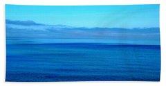 Lake Superior Blue Beach Towel