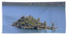 Lake Tahoe - Fannette Island Beach Towel