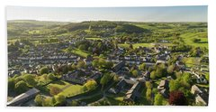 Lampeter From The Air Beach Towel