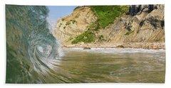 Land And Sea Beach Towel