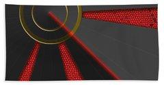 Laser Lock Sequencer Beach Towel