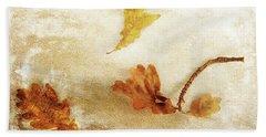 Beach Towel featuring the photograph Last Days Of Fall by Randi Grace Nilsberg