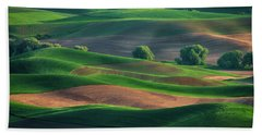 Late Afternoon In The Palouse Beach Towel