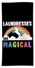 Laundresses Are Magical Beach Towel