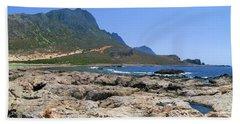 Lava Rocks Of Balos Beach Sheet