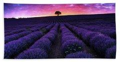 Lavender Dreams Beach Sheet