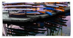 Layers And Layers By The Water Beach Towel