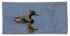 Least Grebe Beach Towel