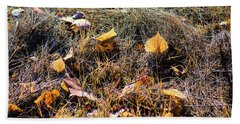Beach Towel featuring the photograph Leaves Of Grass by Jon Burch Photography