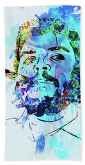 Legendary Che Watercolor Beach Towel