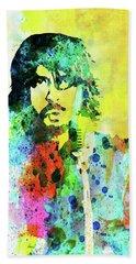 Legendary Foo Fighters Watercolor Beach Towel