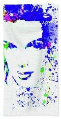 Legendary Judy Garland Watercolor II Beach Towel