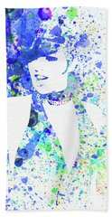 Legendary Liza Minnelli Watercolor II Beach Towel