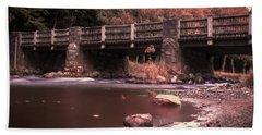 Lehigh Parkway Robin Hood Bridge - Impressionism Beach Towel