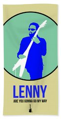 Lenny Kravitz II Beach Towel