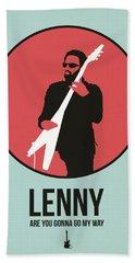 Lenny Kravitz Beach Towel
