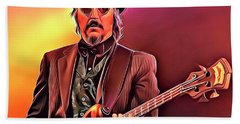 Les Claypool Beach Towel