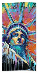 Liberty In Color Beach Towel
