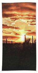 Light Of Arizona Beach Towel