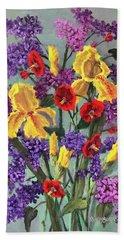 Lilac Days Beach Sheet