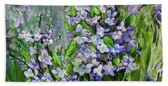 Lilac Dream Beach Sheet