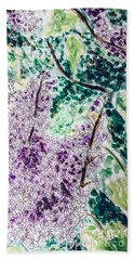 Lilac Dreams Beach Towel