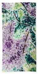 Lilac Dreams Beach Sheet