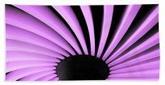 Lilac Fan Ceiling Beach Sheet