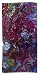 Lilac Oil Beach Sheet