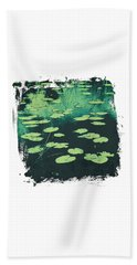 Lily Pad Beach Towel