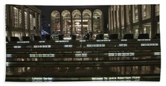 Lincoln Center For The Performing Arts Beach Towel