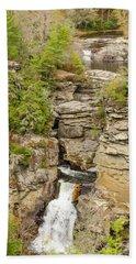 Linville Falls - Vertical Beach Towel