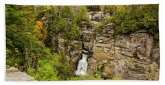 Linville Falls - Wide View Beach Towel