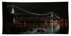 Lions Gate Bridge Beach Towel