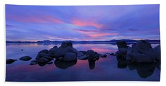 Liquid Serenity  Beach Towel